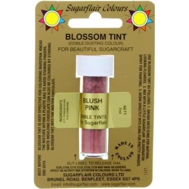 Blossom Tint Edible Dust Food Colouring Sugarcraft Powder Colour – 7ml – Blush Pink
