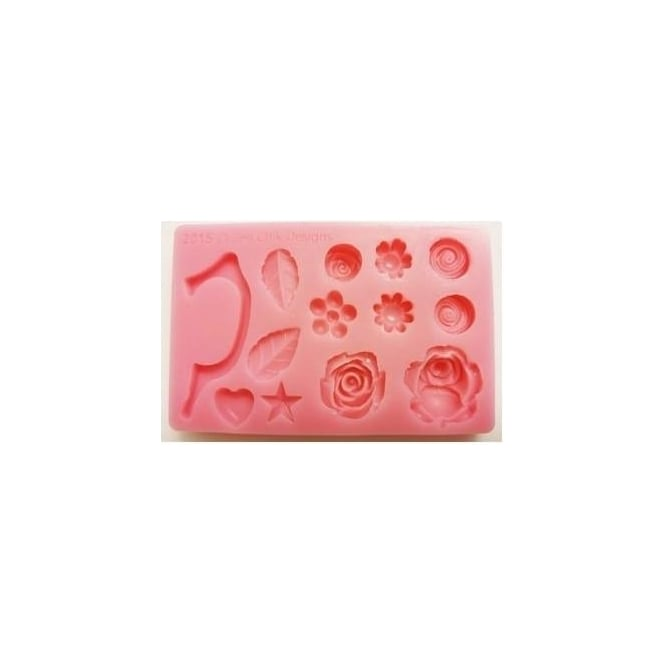 Zee Chik Cup handle and Flowers Silicone Mould